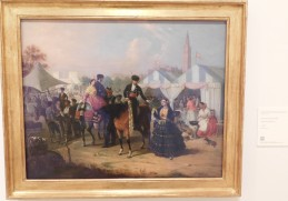At the Seville fair,1855