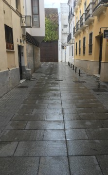 Freshly Washed Street, two-way