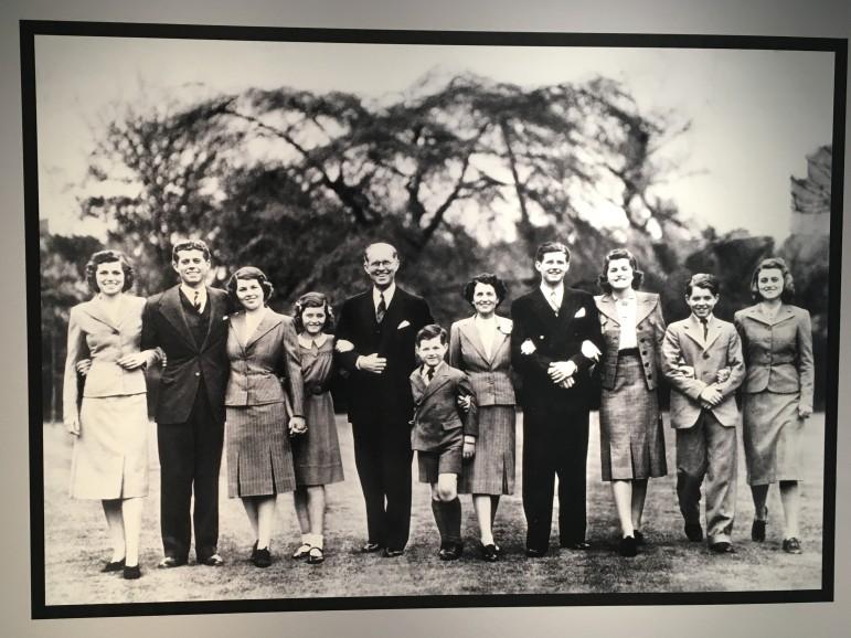 Eunice, Jack, Rosemary, Jean, Joe, Ted, Rose, Joe Jr., Patricia, Bobby, Kathleen, 1938