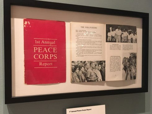 First Annual Report of the Peace Corps