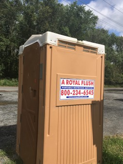 But it doesn't flush