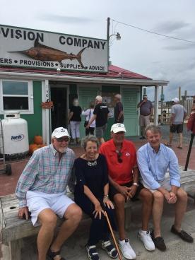 Patrick Killeen, Sue (aka Susan, dba Doré) Mead, John Dempsey (aka Demps), Bob Movelle (aka Mo)