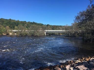 Neuse River babbling along