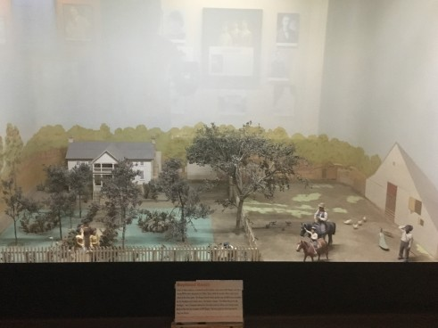 "Diorama of ""The White House"""